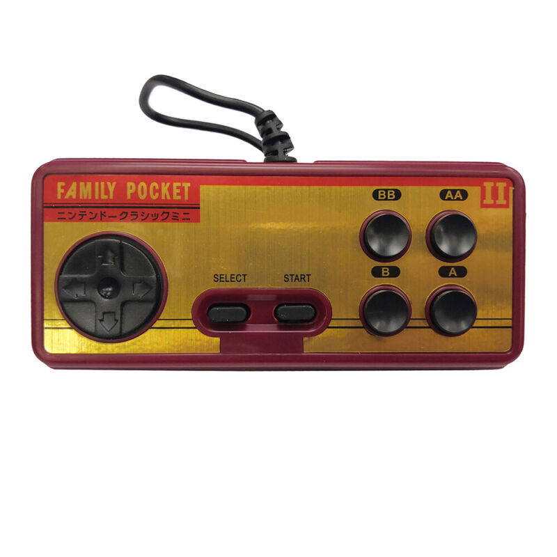 Mini Retro Portable Handheld Game Player Family Pocket Built in 638 Classic Game 3