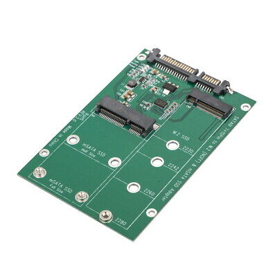 mSATA / M2 NGFF SSD to SATA Converter Adapter Combo Card M.2 2 In 1 5