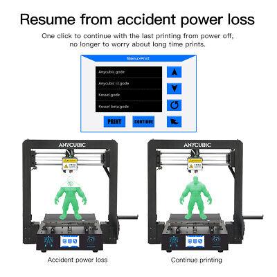 CA Anycubic 3D Printer i3 Mega-S All Metal Frame Colorful TFT Screen PLA ABS TPU 7