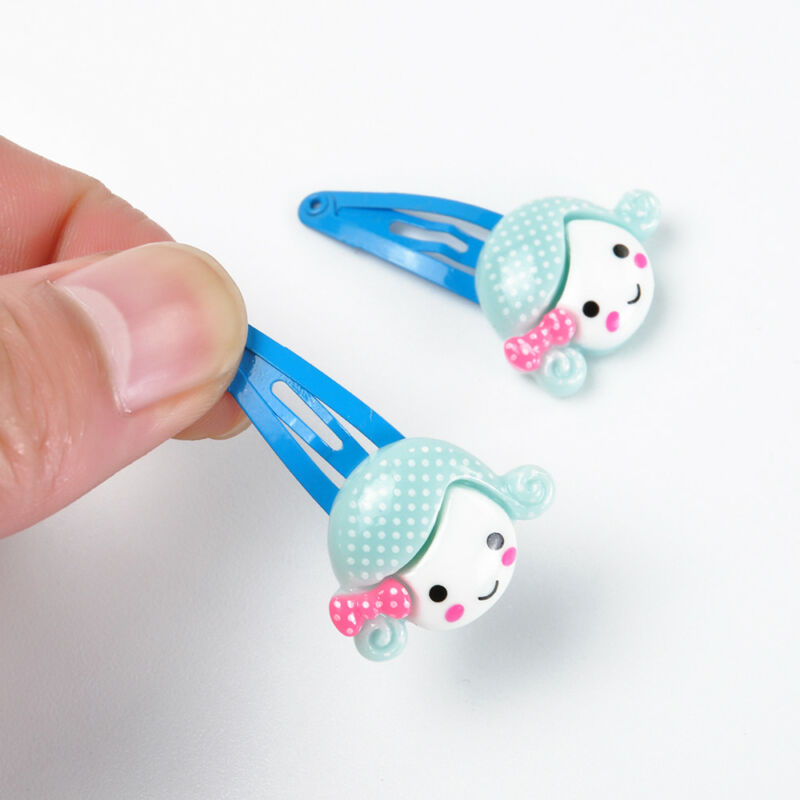 Wholesale 20pcs/Sets Mixed Cartoon Baby Kids Girls HairPin Hair Clips Jewelry- 11