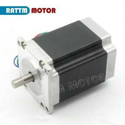 【IT】 3Pcs Nema23 Hybrid Stepper motor single shaft 270oz.in 1.8N.m 3A 76mm CNC 3