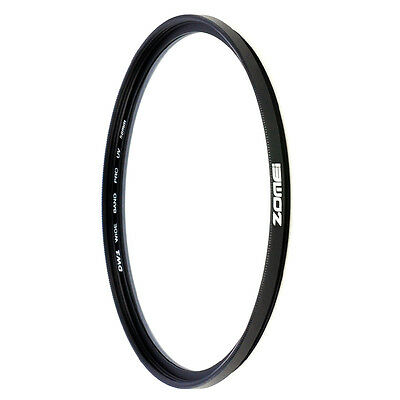ZOMEI 52/58/62/67/72/77mm Slim UV Filter Ultraviolet for Digital SLR DSLR Camera