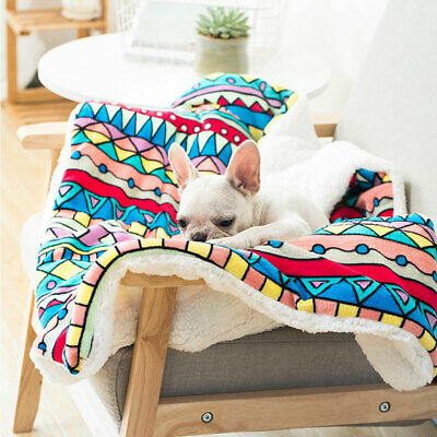 Large Pet Dog Cat Blanket Bed Puppy Cushion House Soft Warm Kennel Washable Mat 3