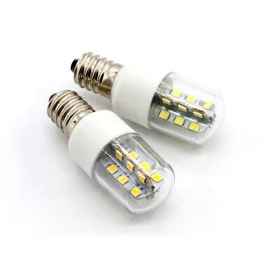 2X E14 3W 2.5W 1.5W LED Light Cooker Hood Chimmey Fridge Bulb White Warm White 7