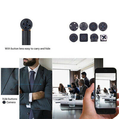 WiFi Mini Hidden Spy Camera Wireless HD 1080P Digital Video Motion Activated Cam 11