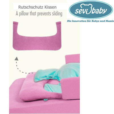 Baby Anti Reflux Bett Kirschkernkissen Keil Bett Kissen Kinderbett 9021BLAU