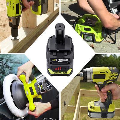 For RYOBI P107 2.5Ah 18V battery ONE+ MAX P104 Lithium P108 P105 P103 P102 P106 3