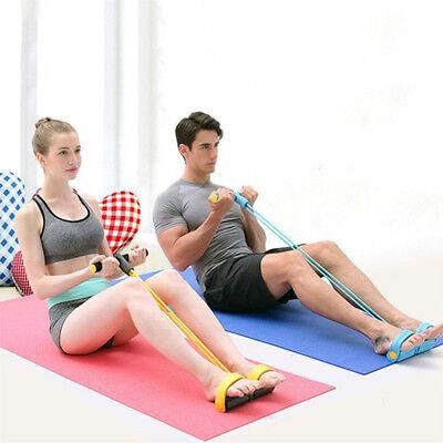 Attrezzo Elastico Pilates Fitness Pull X Esercizi Allena Braccia Gambe Spalle 4
