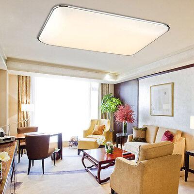 5 Von 6 Kaltweiß 64W LED Ultraslim Deckenleuchte Schlafzimmer Deckenlampe  Wohnzimmer