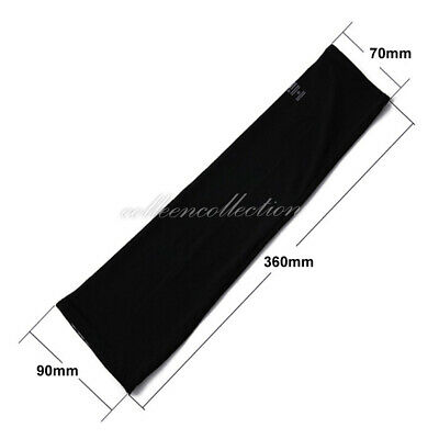 3 Pairs Cooling Sport Arm Stretch Sleeves Sun UV Protection Covers Cycling Golf 2