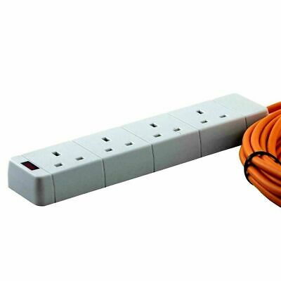 Caravan Extension Lead Electric Hook Up Cable 4 Way UK All Size 5-25m 5