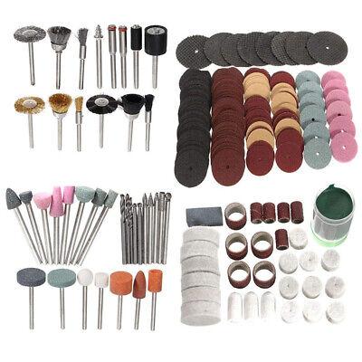 222X Rotary Tool Accessory Set Grinding Polishing Cutting Bit Kits for Dremel EV 3