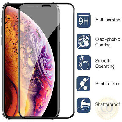 For iPhone 11 Pro X XR XS Max Caseswill Premium Tempered Glass Screen Protector 2