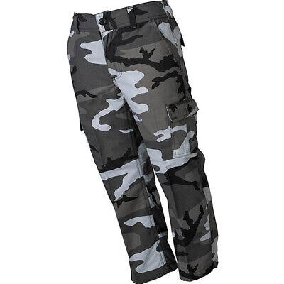 Kidswear US BDU Kinderhose lang Cargo Tarnhose camouflage Feldhose 110 bis 170 5