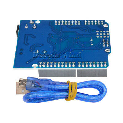 UNO R3 ATMEGA328P-16AU CH340G Micro USB With Cable Board For Arduino NEW