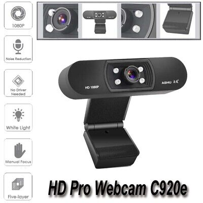 Digital USB Web Cam Camera HD 1080P Video Calling Teleconference Camera For PC 5