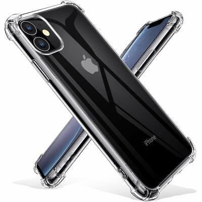 AntiChoc Coque + Verre Trempé iPhone 11 Pro MAX/XS/XR 6S/7/8 Gel Case Protection 6