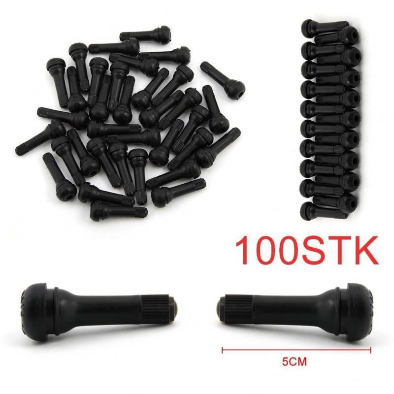 400x TR412 TR413 TR414 TR418 je 100 GummiVentile  EPMD Reifenventil Gummiventil