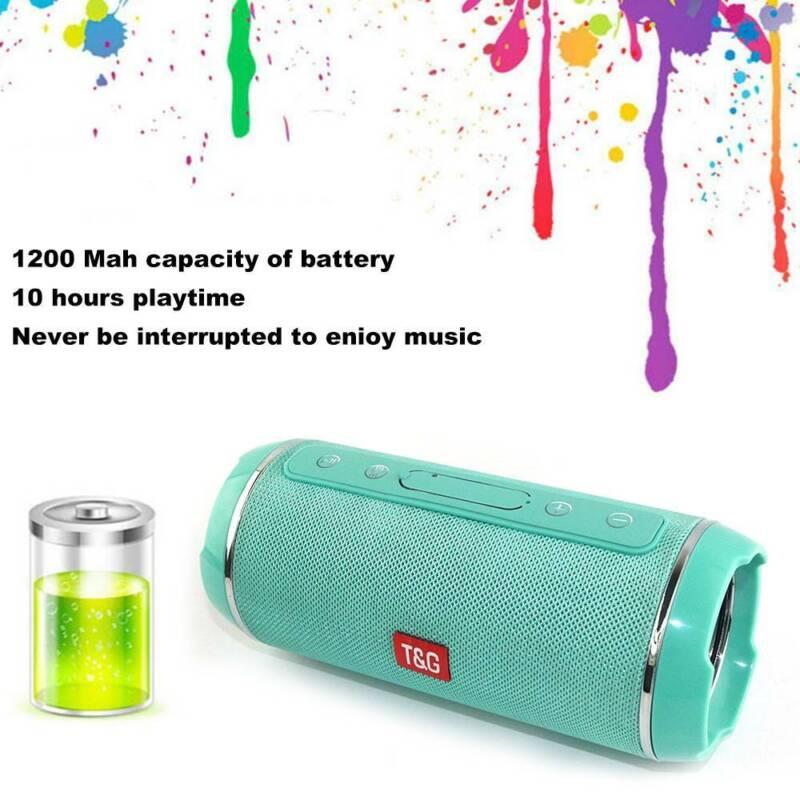 40w Portable Wireless Bluetooth Speaker Waterproof Bass Stereo USB/TF/AUX MP3 UK 6