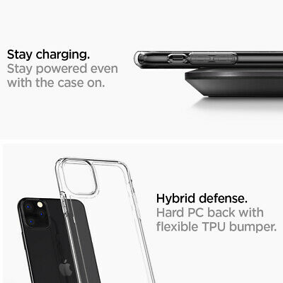 iPhone 11, 11 Pro, 11 Pro Max Case | Spigen® [Ultra Hybrid] Clear Cover 12