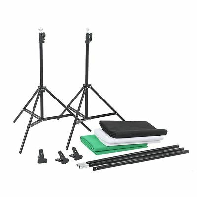 Photography Studio Screen Backdrop Background Support Stand Softbox Umbrella Kit 11