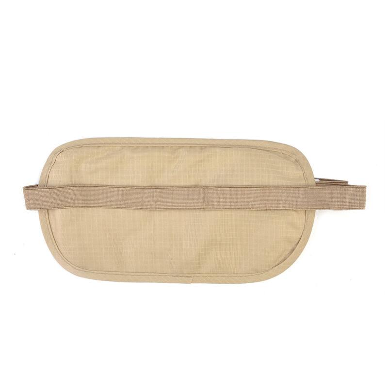 Travel Money Belt Hidden Waist Security Wallet Bag Passport Pouch RFID Holder 8