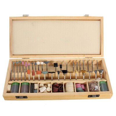 222PCS Rotary Tool Accessories Kit Grinding Polishing Shank Craft Bit for Dremel 5