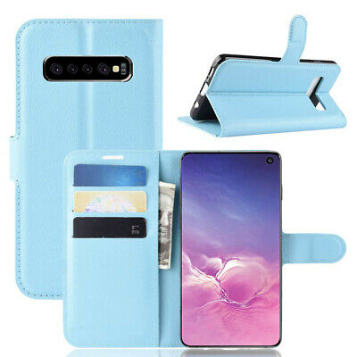 Wallet Leather Flip Case Cover Samsung Galaxy S6 S7 Edge S8 S9 S10 Plus S10e 5G 5