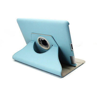 360 Rotating Leather Smart Cover Case for iPad 6th Gen iPad 5 4 3 2 Air mini 5