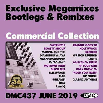 DMC COMMERCIAL COLLECTION Issue 437 Bootleg Remix & Megamix DJ Triple Music  CD