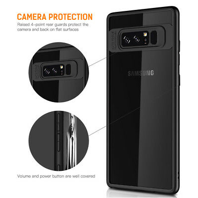 Samsung Galaxy S9 Slim Case S8 Plus Note 9 8 Luxury Shockproof Clear Back Cover 7