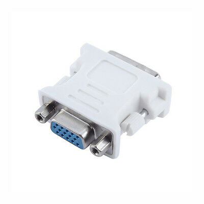 DVI to VGA SVGA Converter Adapter DVI-D Dual Link 24+1 pin Male to 15 Female New 3