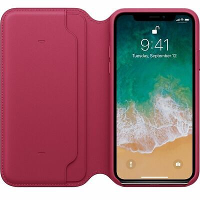 Genuine Leather Folio Flip Wallet Case Cover For Apple iPhone XR XS 6S 7 8 Plus 11
