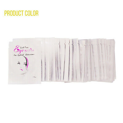 400 Pairs Under Eye Curve Eyelash Pads Gel Patch Lint Free Lash Extension Beauty 5