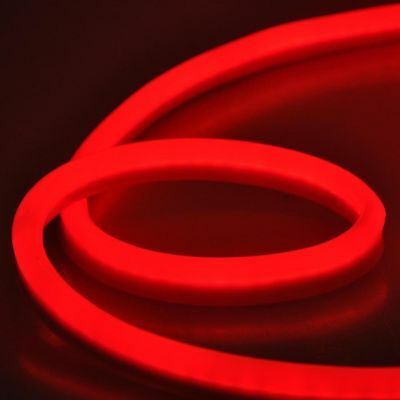 30m 100 Ft Red Led Neon Rope Light Flex Sign In Outdoor