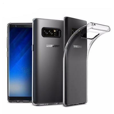 For Samsung Galaxy Note 8 Clear Gel Back Case TPU Cover Skin Silicone Gel Case