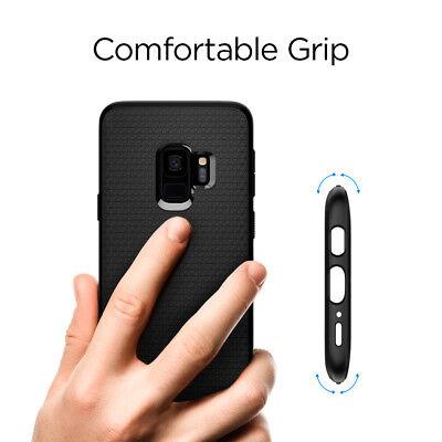 For Galaxy S9 / S9 Plus   Spigen® [Liquid Air] Slim Protective Case Cover 6