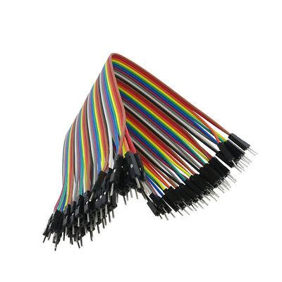 40pc 10-30cm Dupont Jumper Wire Ribbon GPIO Cable Arduino Breadboard F-F/M-M/F-M 11