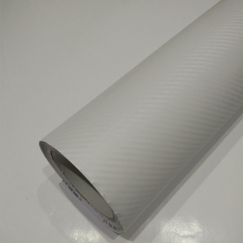 "3D Carbon Fiber Matte Vinyl Film Auto Car Sheet Wrap Roll Sticker Decor 12""x50"" 9"