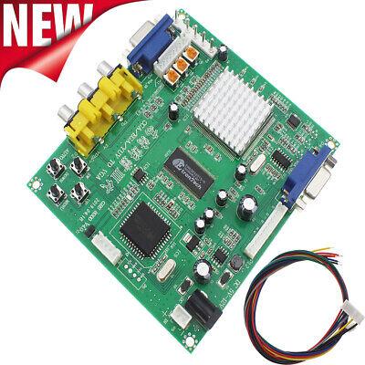 Gonbes GBS8200 CGA/EGA/YUV/RGB To VGA Arcade Game Video Converter Latest aga 3