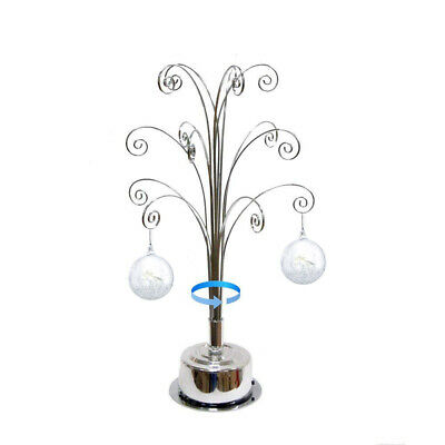 For Swarovski Christmas Ornament 2019 Annual Snowflake Crystal Angel Star Stand 4