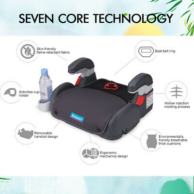 Car Booster Seat Chair Cushion Pad For Toddler Children Kids 3-12 Years Sturdy 10