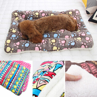 Large Pet Dog Cat Blanket Bed Puppy Cushion House Soft Warm Kennel Washable Mat 9