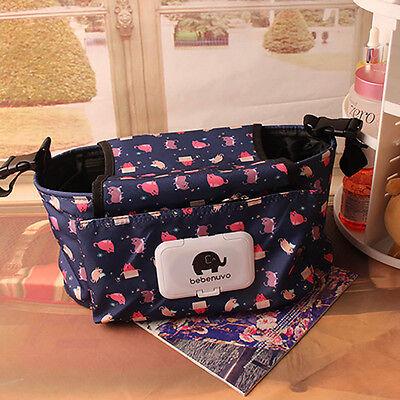 Universal Baby Trolley Storage Bag Stroller Cup Carriage Pram Buggy Organizer