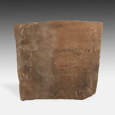 Rare Antique Offrenda Votive Tablet Painted Pottery Chucu Arequipa Peru 13Th C.