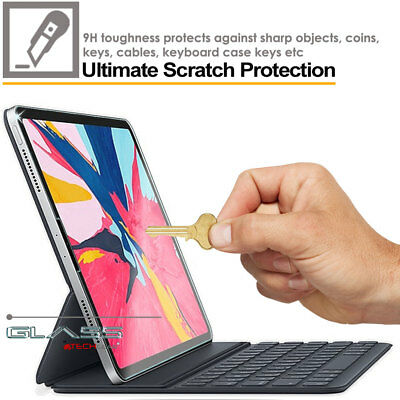 TECHGEAR TEMPERED GLASS Screen Protector for Apple iPad Pro 12.9 2018 Face ID OK 6