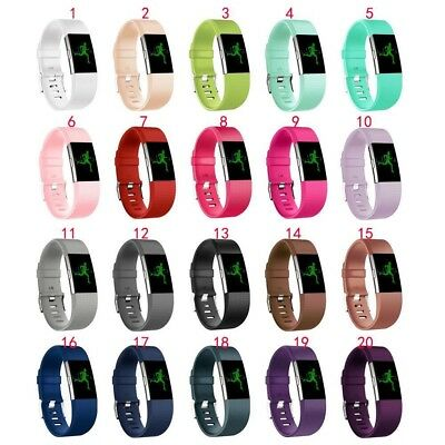 New Replacement Silicone Wrist Band for Fitbit Charge 2 / Charge HR 2 2