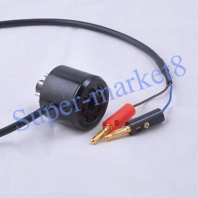 2*8PIN TUBE BIAS Probe Cable Saver Socket Tester 6L6 6V6 EL34 KT88 5881  Voltage