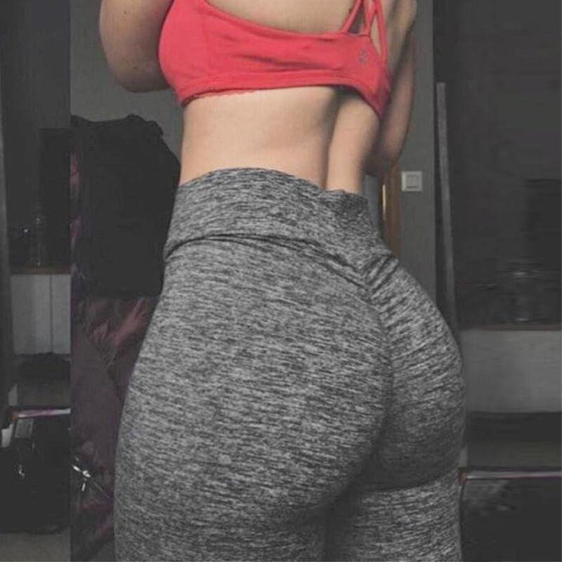 cc74123f1fc70 Women's Butt Lift Yoga Pants Hip Push Up Leggings Stretch Sports Fitness  Workout 6 6 of 12 ...