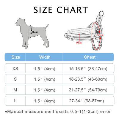 Reflective No Pull Dog Harness Pet Strap Vest Harness Adjustable Quality Padded 2